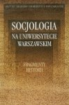Socjologia na Uniwersytecie Warszawskim