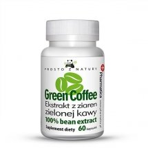 Zielona kawa ekstrakt - 60 kapsułek