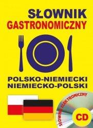 Słownik gastronomiczny polsko-niemiecki niemiecko-polski + CD