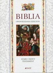 Biblia opowiedziana dzieciom Stary i Nowy Testament etui