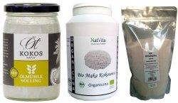 Gofry z mąki kokosowej Zestaw Produktów