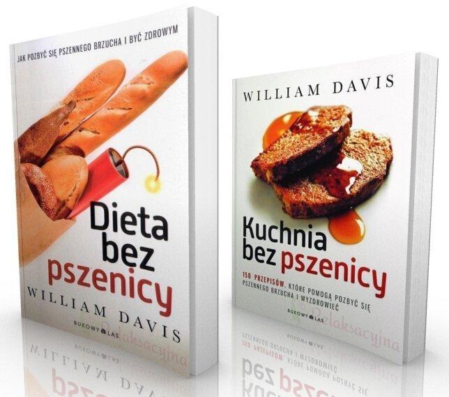 Pakiet Dieta Bez Pszenicy Kuchnia Bez Pszenicy William Davis Ksiazka