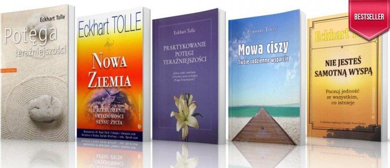 Potęga teraźniejszości Pakiet 5 Książek