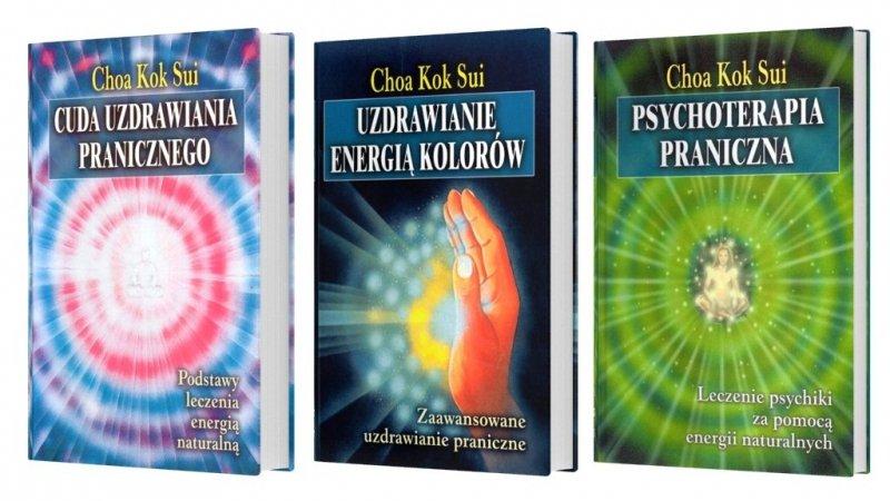 Cuda uzdrawiania pranicznego Uzdrawianie energią kolorów Psychoterapia praniczna