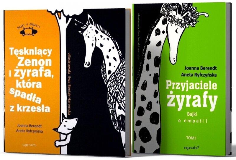 Przyjaciele żyrafy Bajki o empatii Tęskniący Zenon i żyrafa