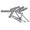 Winkelgrifffür barrierefreies Bad Stangenlänge 60/30 cm zur Montage links. aus rostfreiem Edelstahl ⌀ 32 mm