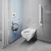 Wand-WC RIMFREE für barrierefreies Bad mit 70 cm Ausladung