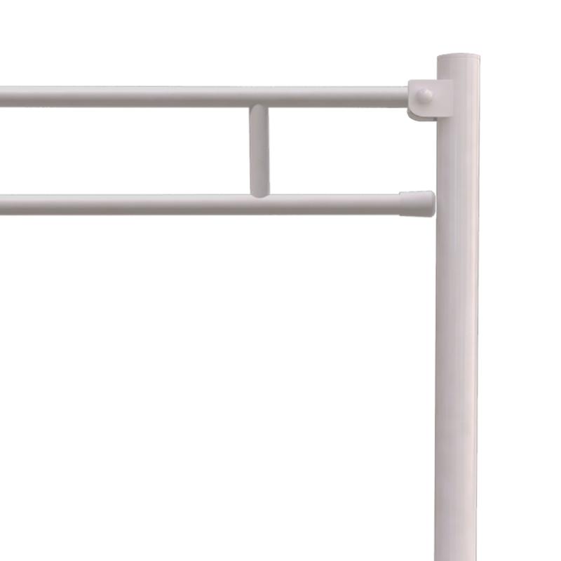 Klappgriff am WC oder Waschbecken für barrierefreies Bad freistehend weiß 60 cm ⌀ 25 mm