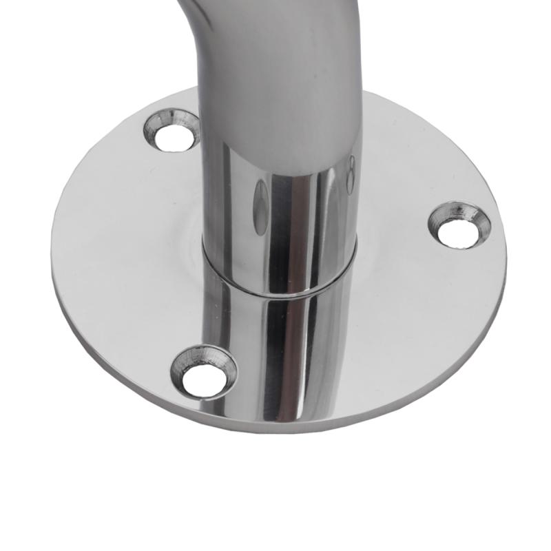 Handlauf für barrierefreies Bad 200 cm aus rostfreiem Edelstahl ⌀ 32 mm