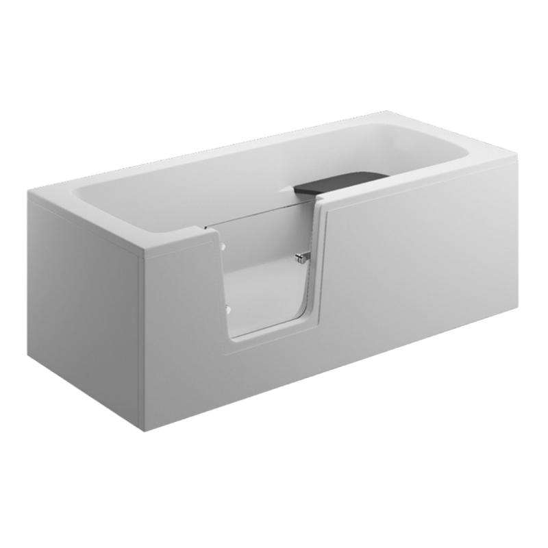 Frontpaneel für VOVO Badewanne 170 cm weiß