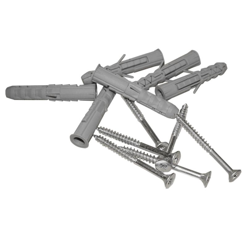 Stumpfwinkelgriff für barrierefreies Bad 30/30 cm m⌀ 32 mit Abdeckrosetten