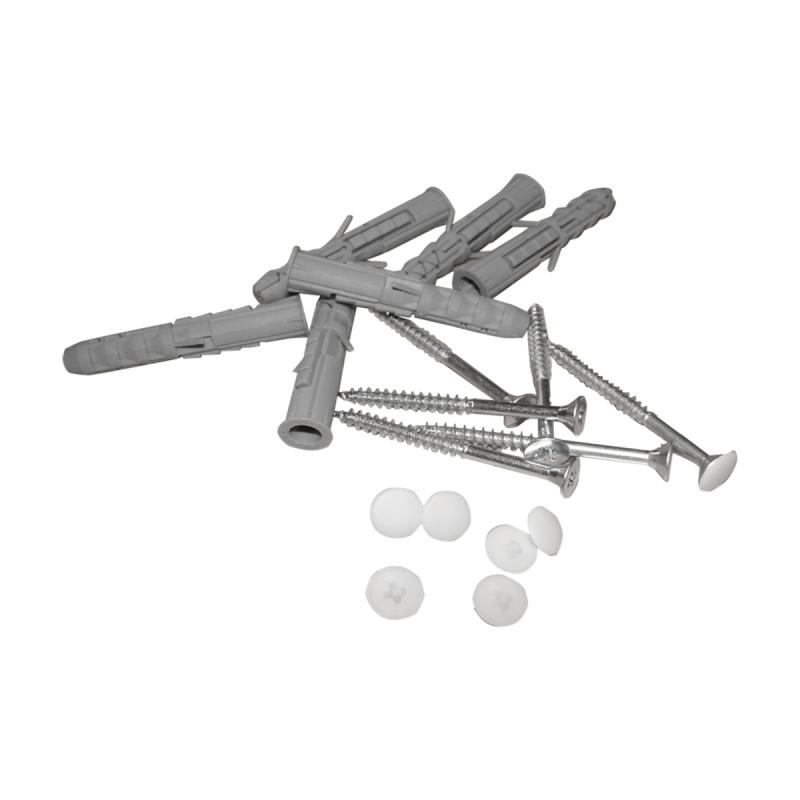 Winkelgriff 100/40cm für barrierefreies Bad rechts montierbar weiß ⌀ 25 mm