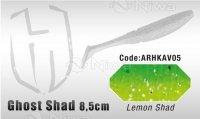 PRZYNĘTA HERAKLES GHOST SHAD 8.5cm - LEMON SHAD