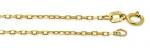 Złoty łańcuszek 585 splot ankier