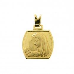 Zawieszka z wizerunkiem matki boskiej idealny prezent na chrzest, komunię