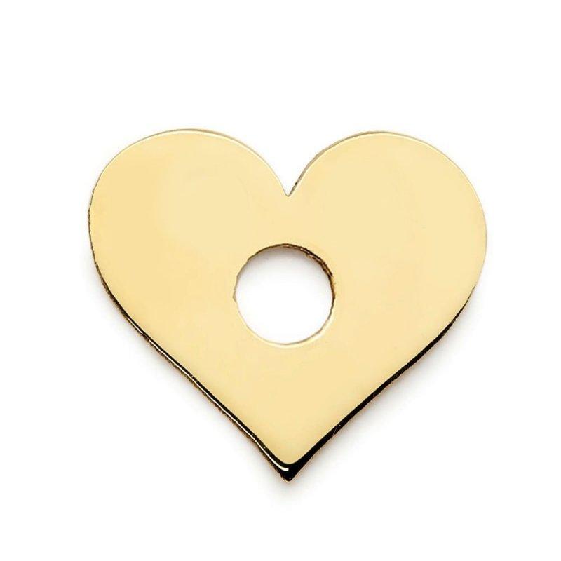 Złota zawieszka 585 serduszko do celebrytki | celebrytka serce