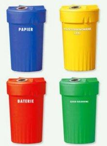 Pojemniki do segregacji odpadów ( EKO KAN )