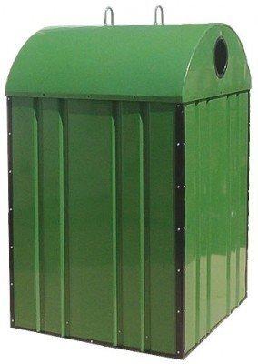 Metalowy pojemnik do segregacji Typ DZWON PD-OT