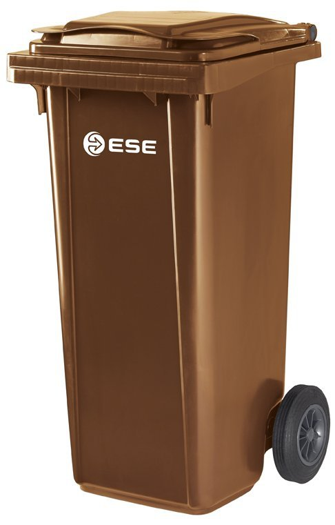Pojemnik na odpady bytowe MGB 120l ESE (brązowy)