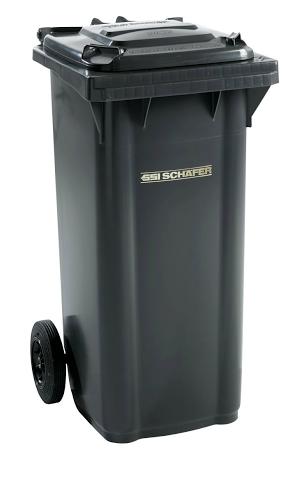 Pojemnik na odpady 120l SSI-Schaefer Czarny