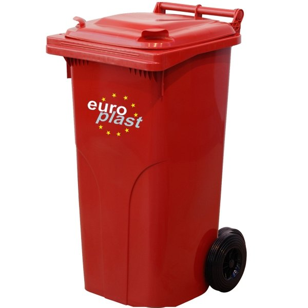 Pojemnik na odpady MGB 120l EUROPLAST Żółty