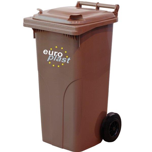 Pojemnik na odpady MGB 120l EUROPLAST Czarny