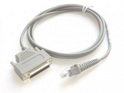 Datalogic kabel RS232 prosty 25pin, 90G001080