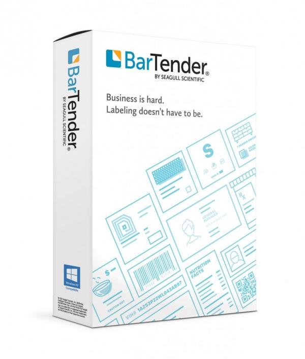 Seagull BarTender 2019 Professional z licencją na 1 drukarkę
