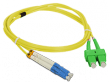 Patch cord SC/APC-LC/UPC duplex SM 1.0m