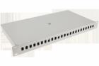 Panel / Przełącznica 24xSC simplex/24xLC duplex 19 1U (dławiki,tacka spawów)