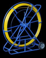 Stalka/ Włókno do przeciągania kabli 9,0mm/150m + Stojak