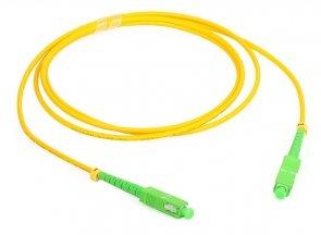 Patch cord SC/APC-SC/APC simplex SM 2.0m