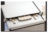 Panel / Przełącznica 24xSC simplex/24xLC duplex  19 1U z akcesoria montażowymi (dławiki, opaski)