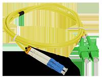 Patch cord SC/APC-LC/UPC duplex SM 2m