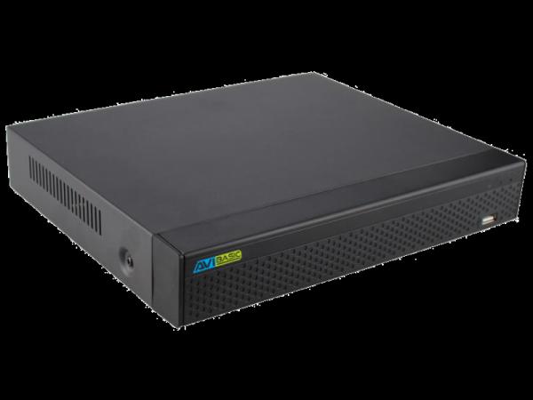 Rejestrator IP 4-kanałowy, H.264, obsługujący 1 dysk - AVIZIO BASIC