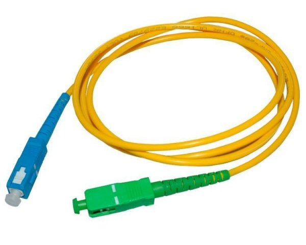Patch cord SC/APC-SC/UPC simplex SM 50m