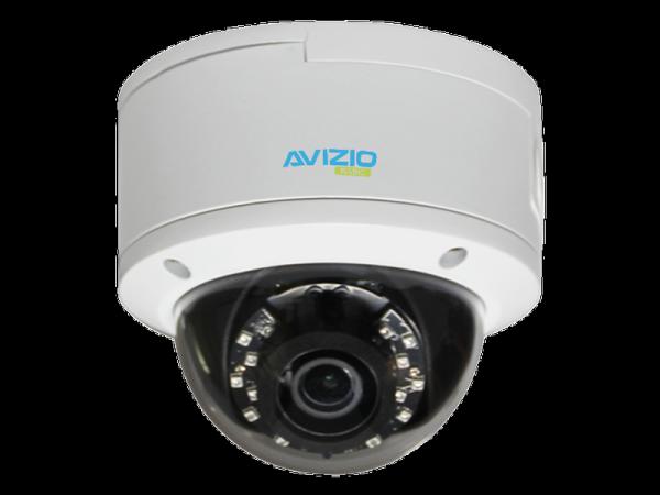 Kamera IP kopułkowa, 5 Mpx, IK10, 3.6mm AVIZIO BASIC
