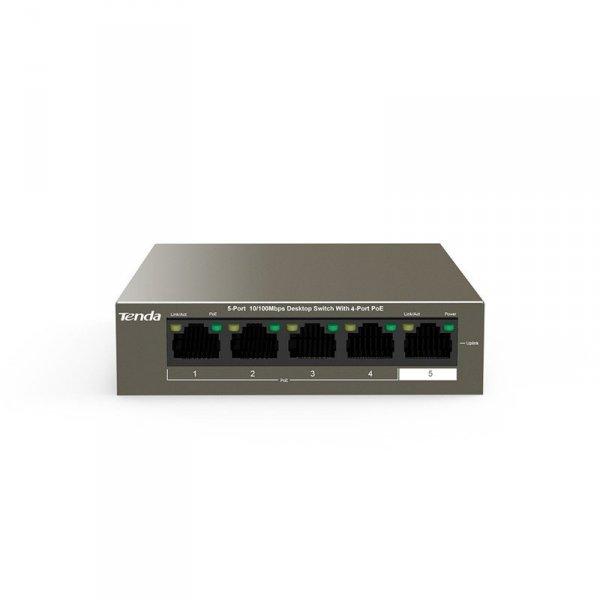 Switch POE TENDA TEF1105P-4-63W - 5-portowy