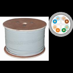 Kabel U/UTP kat.6A LSOH 4x2x23AWG 500m 25 lat gwarancji, badanie jakości laboratorium INTERTEK (USA)