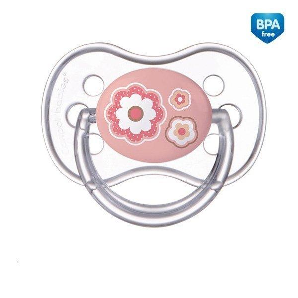 Canpol Silikonowy smoczek symetryczny Newborn baby 0-6 m-cy