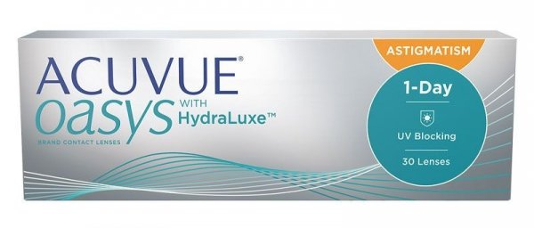 Acuvue Oasys 1 Day for Astigmatism  30szt. +0,00/-1,25/130