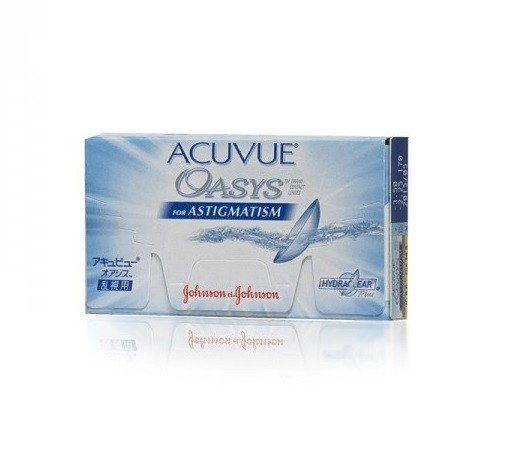 Acuvue Oasys for Astigmatism 1szt. +0,00/-0,75/090
