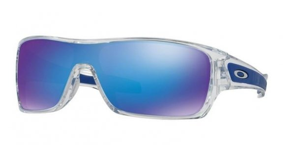 Oakley TURBINE ROTOR Polished Clear/Sapphire Iridium OO9307-10