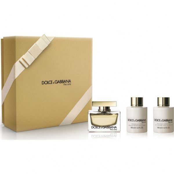 Zestaw Dolce & Gabbana The One EdP 75 ml + Perfumed Body Lotion 100 ml + Perfumed Shower Gel 100 ml