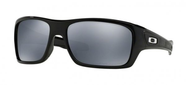 Oakley TURBINE. Polished Black/Black Iridium Polarized OO9263-08