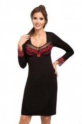 Koszula nocna Jasmine II czarna Donna WYSYŁKA 24H