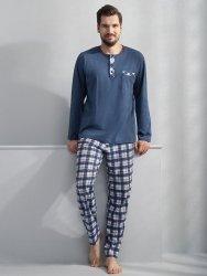 Piżama męska Luna Lucas 748 Niebieska