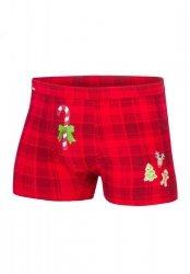 Bokserki Cornette Candy Cane 017/42 Merry Christmas