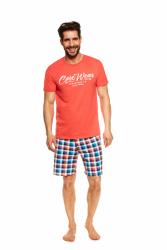 Piżama męska Henderson Jimmy 36827-32X Pomarańczowa