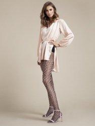 Rajstopy Fiore Claudia Black-Pink 20 DEN